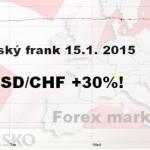15.1.2015 přilétla černá labuť ze Švýcarska